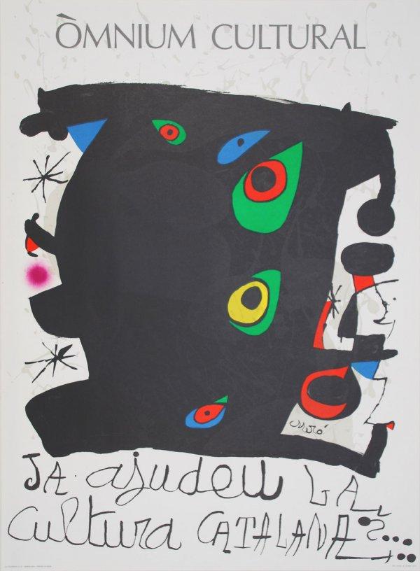 Omnium Cultural by Joan Miro