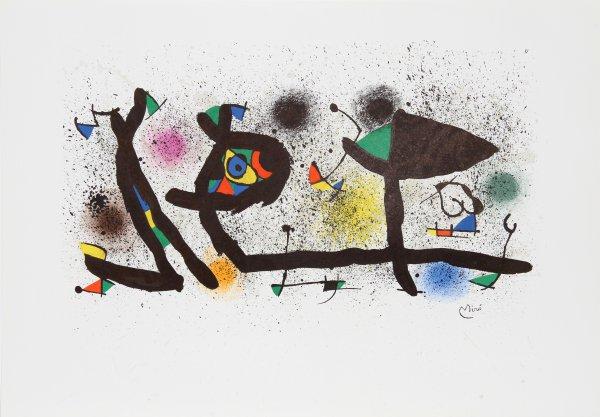 Sculptures (m. 950) by Joan Miro at Joan Miro