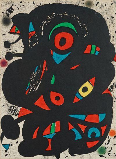 Strindberg Mappen by Joan Miro