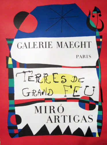 Terres De Grand Feu, Miro Artigas by Joan Miro