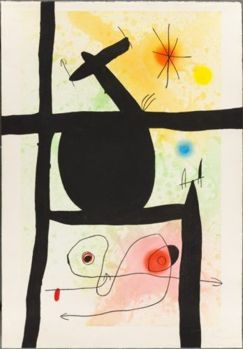 The Gourd by Joan Miro at