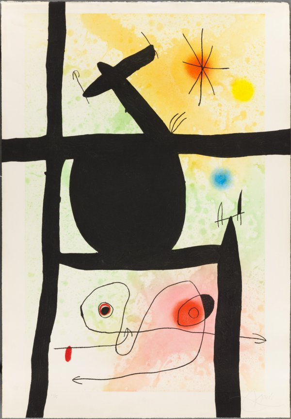 The Gourd by Joan Miro
