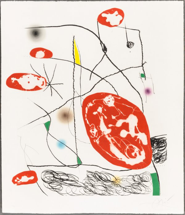 The Pine Of Formentor by Joan Miro