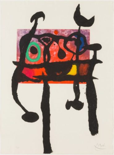 The Samurai by Joan Miro at Joan Miro