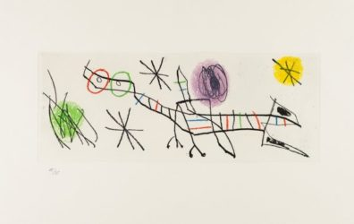 Untitled From Erik Satie: Poems And Songs by Joan Miro at