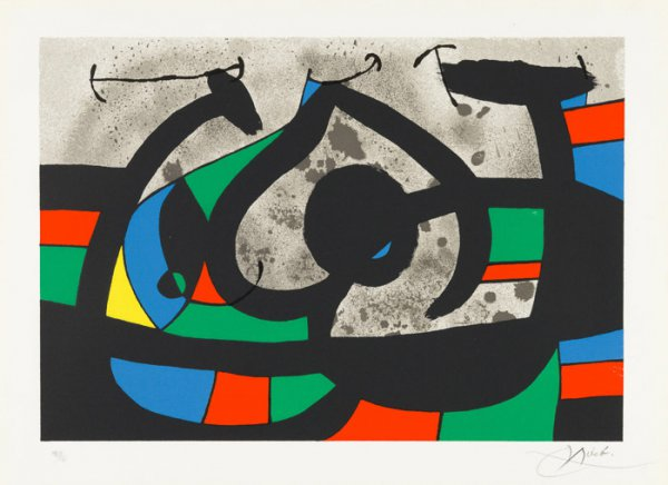 Untitled From Le Lezard Aux Plumes D'or by Joan Miro