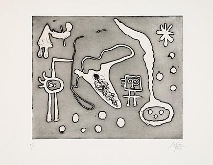 """From """"Serie II"""" by Joan Miro"""