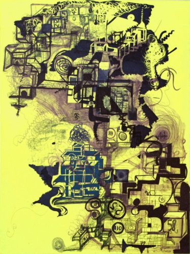 Twizzler by Joanne Greenbaum at Joanne Greenbaum
