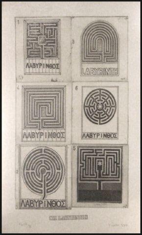 Six Labyrinths by Joe Tilson