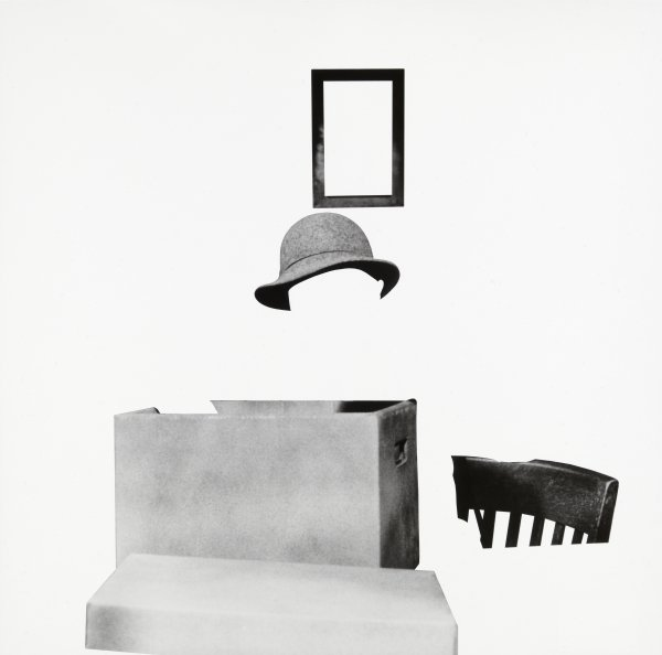 Box, Hat, Frame And Chair by John Baldessari