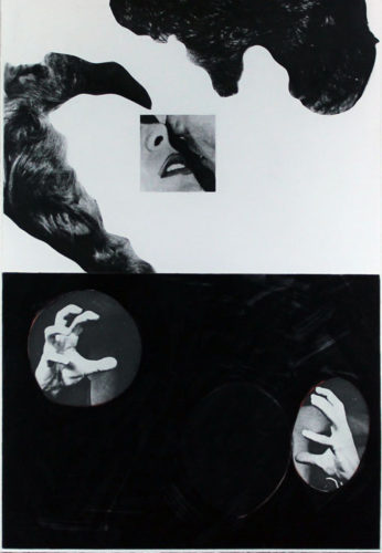 Kiss, Hair, Hands by John Baldessari at John Baldessari