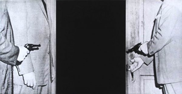 Large Door, From Hegel's Cellar Portfolio by John Baldessari