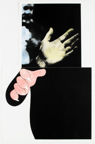 Two Hands (with Distant Figure) by John Baldessari at John Baldessari