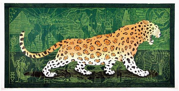 """the Cat"" by John Buck"