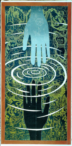 """the Empty Hand"" by John Buck"
