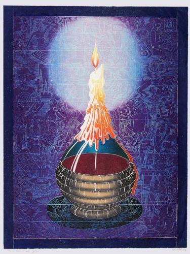 """the Eternal Flame"" by John Buck"