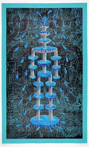 """the Fountain"" by John Buck"