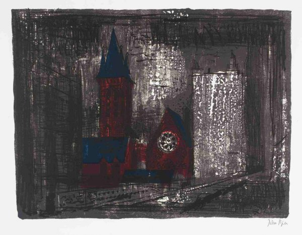 St James Less Westminster by John Piper