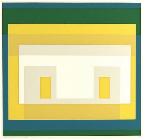 Variant Ii, From 10 Variants by Josef Albers