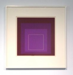 White Line Square Xi by Josef Albers at