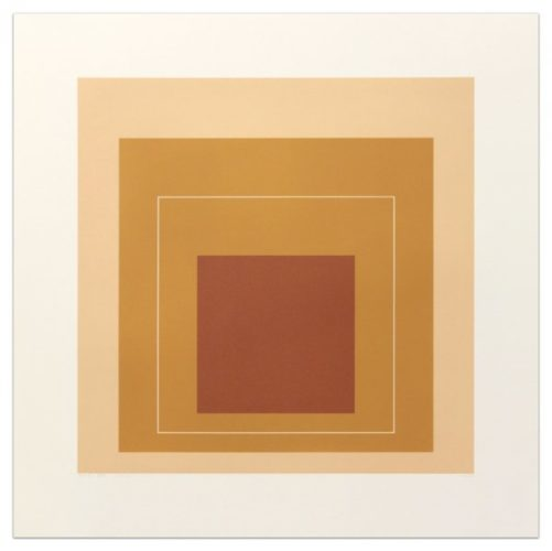 White Lines Square Xvi by Josef Albers