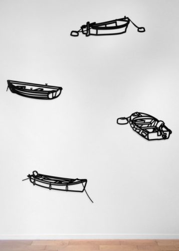 Nature 1 – Boats by Julian Opie