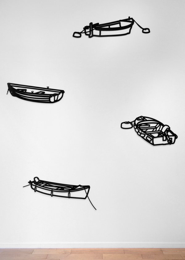 Nature 1 – Boats by Julian Opie