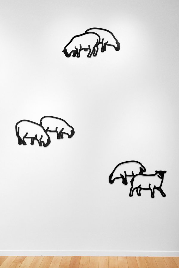 Nature 1 – Sheep by Julian Opie
