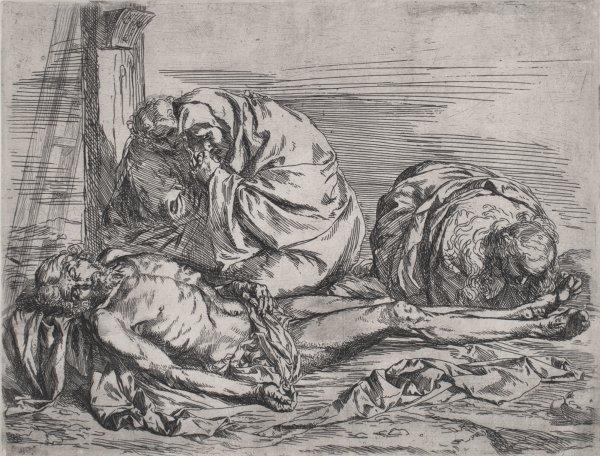 The Lamentation by Jusepe de Ribera