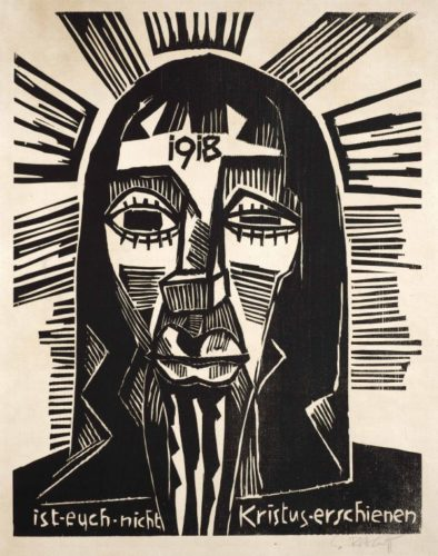 Christus by Karl Schmidt-Rottluff at