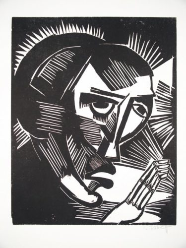 Maria by Karl Schmidt-Rottluff at