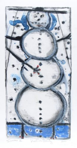 Snowman Ii by Katherine Bowling at Oehme Graphics