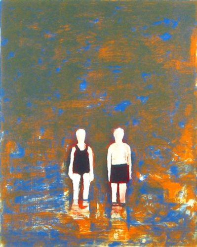 2 Bathers by Katherine Bradford