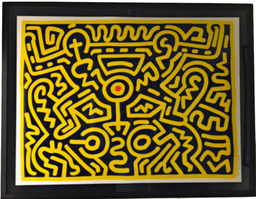 Growing #3 by Keith Haring at Keith Haring