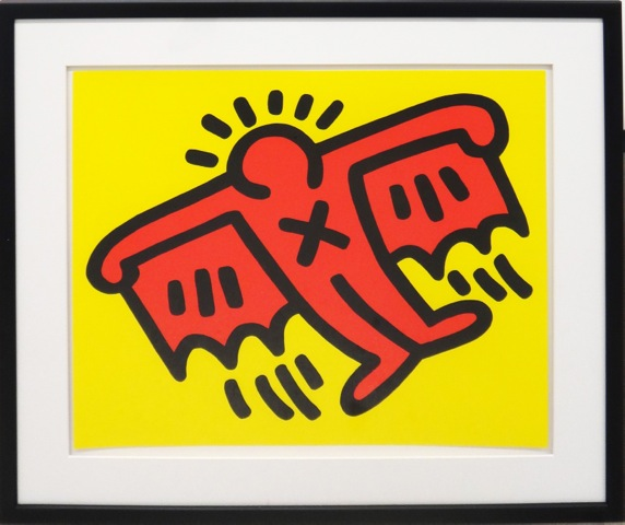 Icons (batman) by Keith Haring at Keith Haring