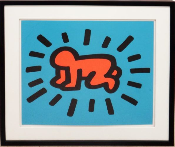 Icons (radiant Baby) by Keith Haring at
