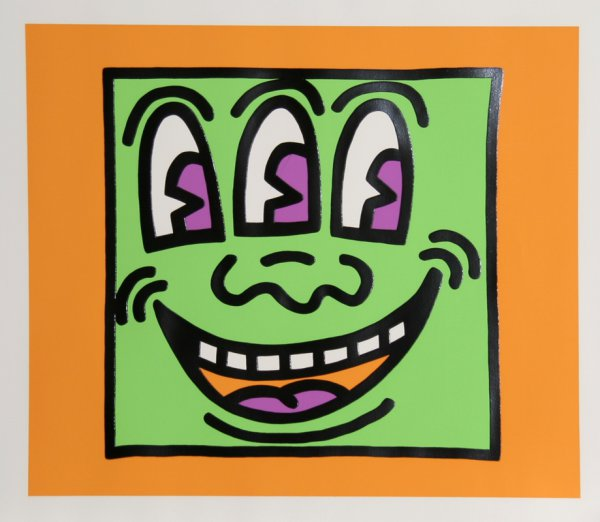Icons – Three Eyes by Keith Haring