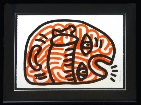 Ludo #2 by Keith Haring at Keith Haring