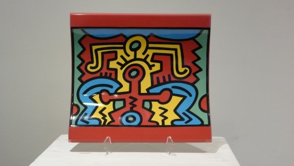 No. 2 Spirit Of Art, New York-soho Centerpiece by Keith Haring at