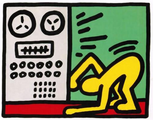Pop Shop Iii by Keith Haring at Keith Haring