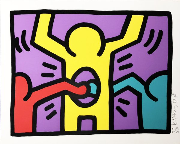 Pop Shop I (c) by Keith Haring