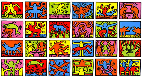 Retrospect by Keith Haring at
