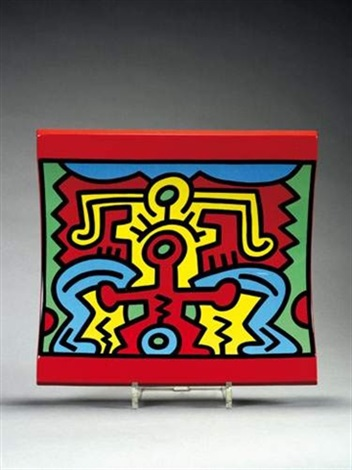 Spirit Of Art N°2 Ny Soho by Keith Haring at
