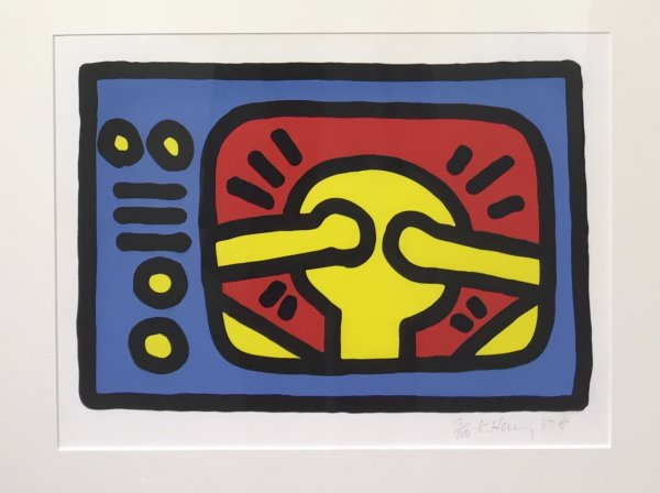 Untitled C by Keith Haring
