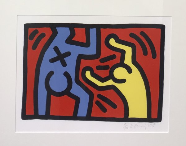 Untitled D by Keith Haring