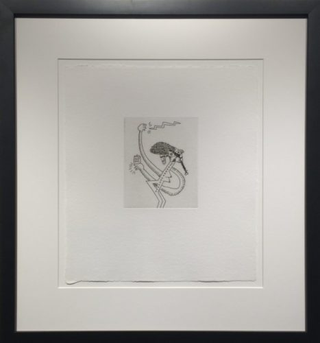 Untitled #9 (with Sean Kalish) by Keith Haring at