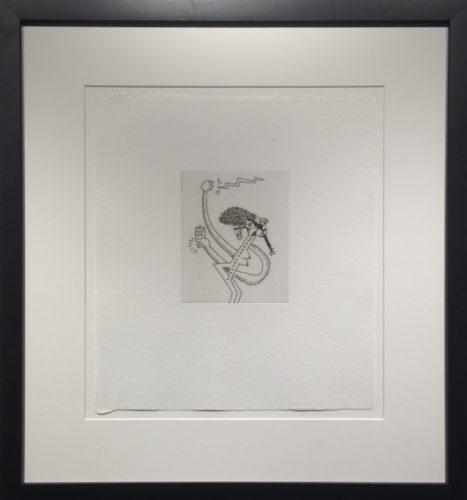 Untitled #9 (with Sean Kalish) by Keith Haring at Keith Haring