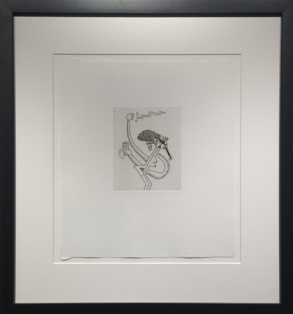 Untitled #9 (with Sean Kalish) by Keith Haring