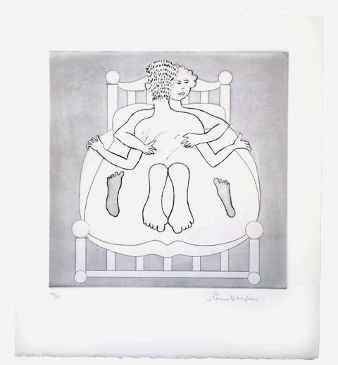 Untitled Vi by Louise Bourgeois