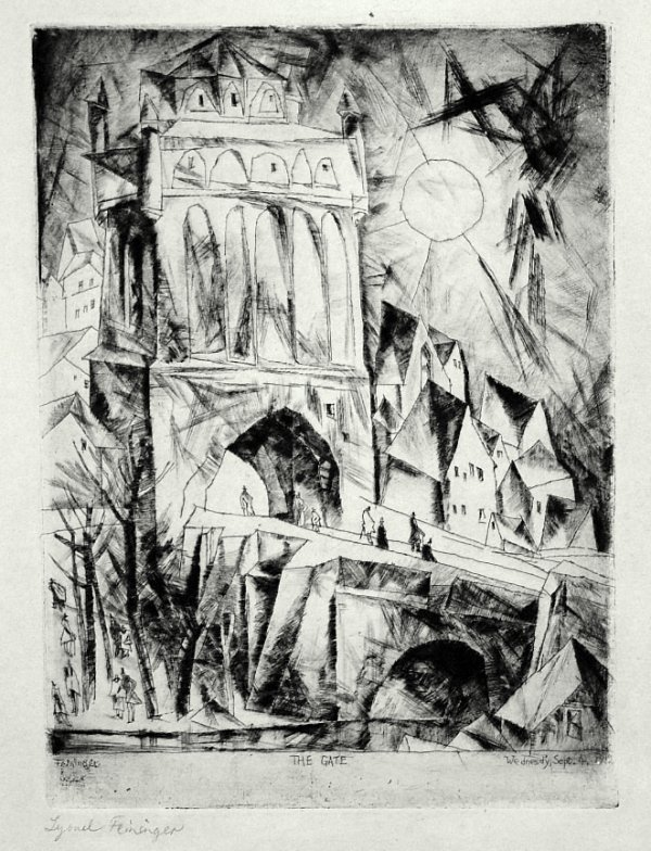 Das Tor by Lyonel Feininger
